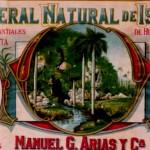 Agua Mineral Natural de Isla de Pinos.