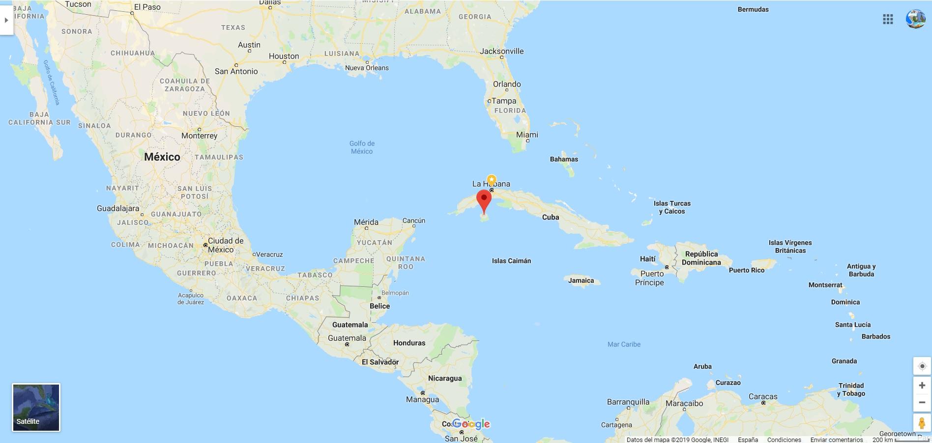 Isla de la Juevntud - Cuba