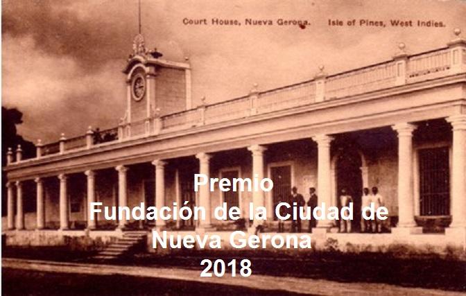 Premio Fundación de la Ciudad de Nueva Gerona 2018