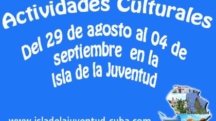 Actividades del 29 agosto al 04 septiembre