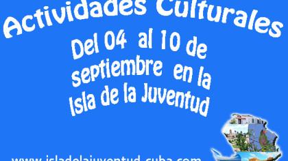 Actividades del 04 al 10 septiembre