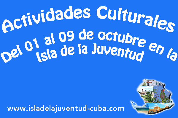 Actividades del 01 al 09 DE OCTUBRE