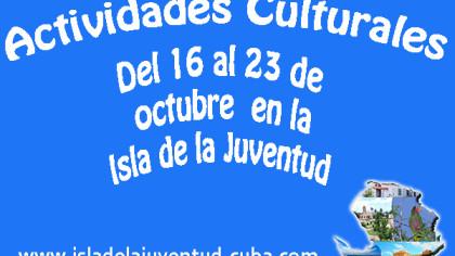 Actividades del 16 al 23 octubre