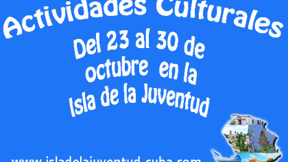 Actividades del 23 al 30 octubre