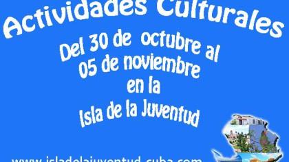 Actividades del 30 octubre al 05 noviembre