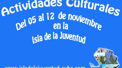 Actividades del 05 al 12  noviembre