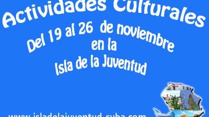 Actividades del 19 al 26  noviembre
