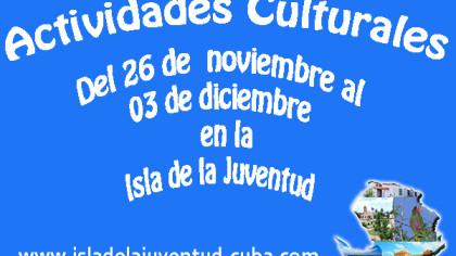 Actividades del 26 noviembre al 03 de diciembre