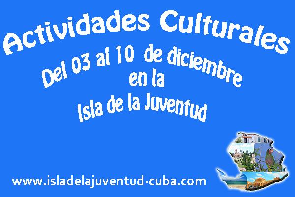 Actividades del 03 al 10 de diciembre