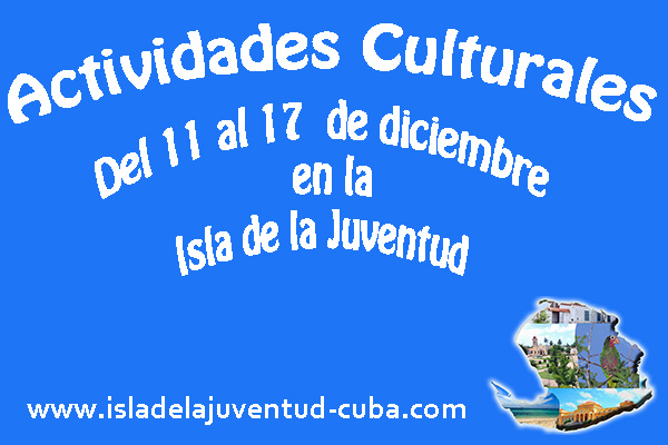 Actividades del 11 al 17 de diciembre