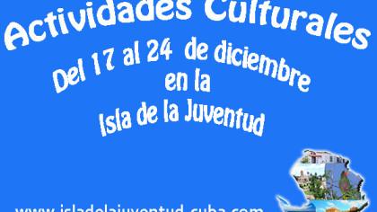 Actividades del 17 al 24 de diciembre