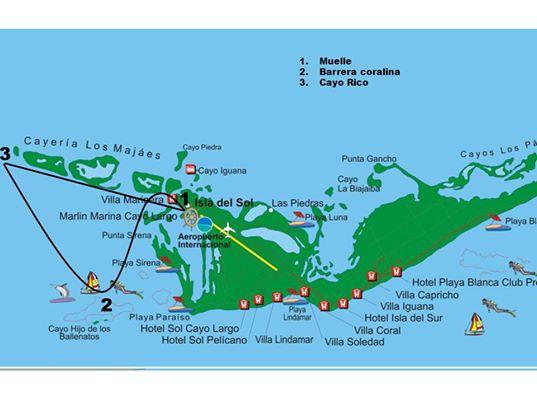 EXCURSION A CAYO RICO 1