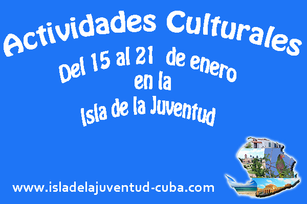 Actividades del 15 al 21 de enero