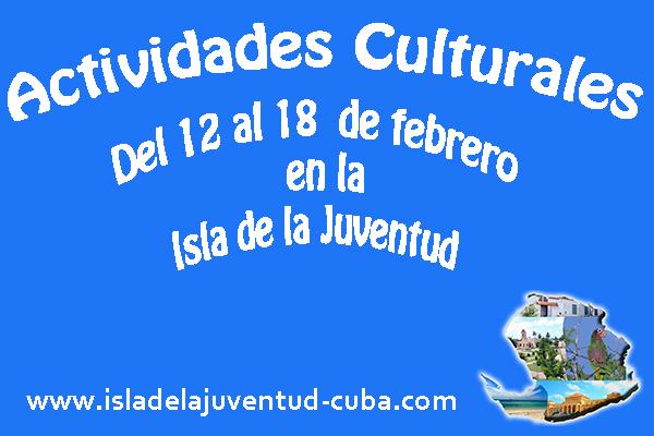 Actividades del 12  al 18 de febrero