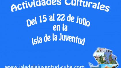 Actividades del 15 al 22 de julio