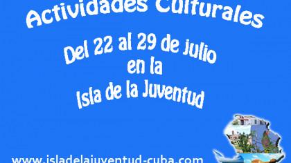 Actividades del 22 al 29 de julio