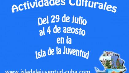 Actividades del 29 de julio al 4 de agosto